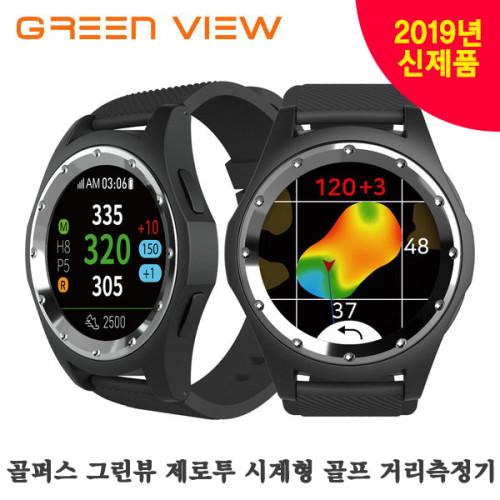 [2019 신제품] 골퍼스 그린뷰 제로투 시계형 골프 거리측정기 / GREEN VIEW ZERO2 Watch-style Golf Range Finder