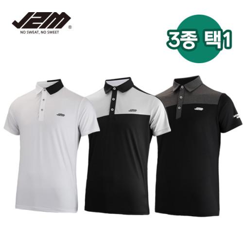 J2M 썸머젠틀맨프리미어 골프 반팔티셔츠 3종택1