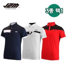 J2M 썸머젠틀맨리그 골프 반팔티셔츠 3종택1