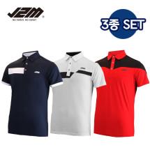 J2M 썸머젠틀맨 리그 골프 반팔티셔츠 3종세트