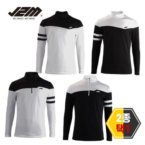[특가]J2M 기모 윈터핏 긴팔티셔츠 2종택1