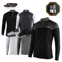 [골프야놀자]제이투엠골프 3050 긴팔티셔츠 9종택1_남